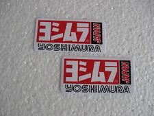 2x Aufkleber Set Sticker Yoshimura Racing Autotuning Motocross Biker Motorrad