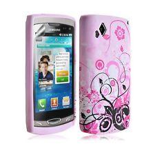Housse étui coque en Gel Pour Samsung Wave 2 S8530 motif HF17