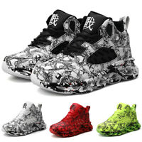 Men's Sneakers Personality Casual Breathable Running Shoes Sports Athletic Gym
