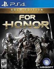 For Honor: Gold Edition (Sony PlayStation 4, 2017)  *Factory Sealed*