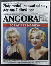 MARILYN MONROE  mag.FRONT cover,Poland, No 32/2012   Vangelis