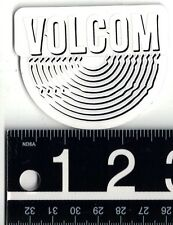 VOLCOM CURVE STICKER 2.75 in. x 2.25 in. Volcom Skate Snow Surf Decal