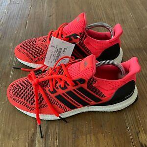 New Adidas Ultraboost 1.0 Solar Orange Shoes Men's 7 (2019) - FU6648 Womens 8.5