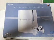 PLAYSTATION 3 (40GB) PS3 sony Ceramic white CECHH00 japan with box JP