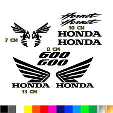 kit 10 adesivi logo honda hornet 600 moto racing bike sticker decal vinile