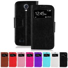 Samsung Galaxy S4 Cover Hülle S View Stand Case Schutz Display I9505 neu
