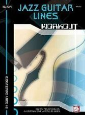 JAZZ GUITAR LINES WORKOUT GUITAR (ALL) BOOK