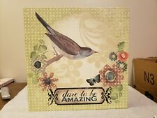 Dare to Be Amazing Wall Art #100237 LIttle Bird Told Me Melody Ross Demdaco
