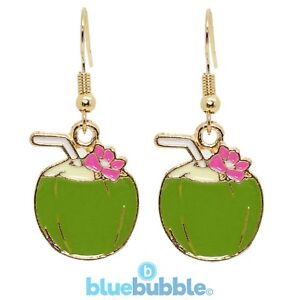 Bluebubble HAPPY HOUR Earrings Funky Fun Festival Party Holiday Kitsch Retro 80s
