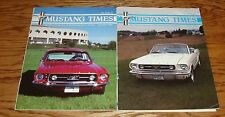 1990 Ford Mustang Times Magazine Vol 14 No 9 10 Lot of 2 90