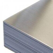 Lamiera Lastra In Alluminio 1000x500mm spessa 2mm lega 1050 99,5% Cnc/Fresa