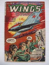 Wings #123 Vg (of 12) Red Blitz!