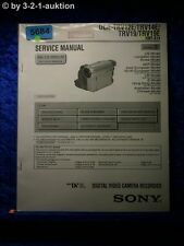Sony Service Manual DCR TRV12E TRV14E TRV19 TRV19E Level 2 Digital Video (#5684)