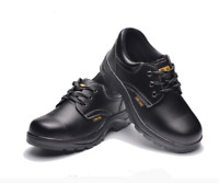 Man's leather Safety Steel Toe Anti-Smashing Anti-Puncture Protection Work Shoes