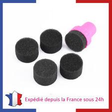 Nail Art Tampon pour Dégradé Gradient Manucure Maison Ongles + 4 Mousses