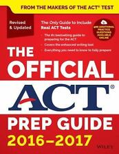 The Official ACT Prep Guide, 2016 - 2017 1st  by ACT (Paperback)