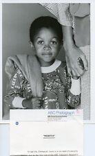 EMMANUEL LEWIS HOLDING HAND PORTRAIT WEBSTER ORIGINAL 1984 ABC TV PHOTO