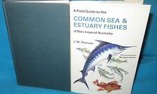 Field Guide to COMMON SEA & ESTUARY FISHES ~ J M THOMSON.   HbDj 1977  in MELB