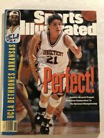 1995 Sports Illustrated CONNECTICUT HUSKIES UCONN National Champs RIZZOTTI Lobo