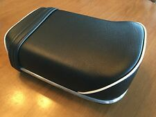 VINTAGE BMW R50-R69S BREADLOAF SEAT, DENFELD SHAPE, RACK MOUNT W/HARDWARE  NEW