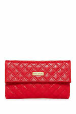 Marc Jacobs Red/Flame with Brass Sandy Clutch Shoulder Bag*****NEW*****$625*****
