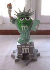 M&M's Ms. Liberty Statue Candy Dispenser Green Girl