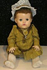 1959 20� Vintage Vinyl American Character Tiny Tears Baby Doll Hp Head Gorgeous