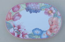 Corolla by Villeroy & Boch Oval Platter, Bone China 34.5cm, Gallo Design, Lily