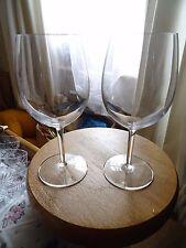 Set of 2 extra large wine glasses 800ml