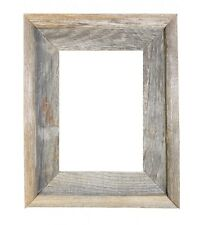 "8x10-2"" Wide Signature Reclaimed Rustic Barn Wood Open Frame No Glass Or Back"