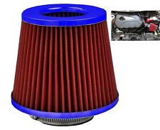 Red/Blue Induction Cone Air Filter Fiat Panda 1980-2016