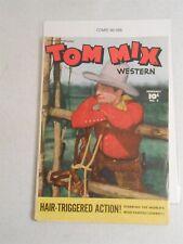 Tom Mix Western #2 (4.0 VG) Fawcett Comics Photo Cover