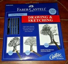Faber-Castell 11pc Beginning Artist's Set: Getting Started Drawing & Sketching!