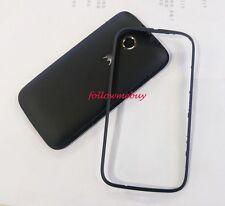 A+ Battery Back Door Cover/Bezel For Motorola Moto E 2nd Gen XT1527 XT1528 Black