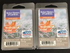 2  BETTER HOMES & GARDENS Wax Melts FIRST WOODLAND FROST 2.5 Oz Each