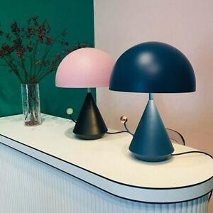 French Mushroom Table Desk Lamp LED Light Kid's Room Lighting Vintage Reading