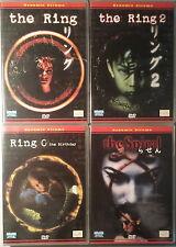 THE RING - RING 2 - RING 0 BIRTHDAY - SPIRAL - Nakata 4 DVD saga giapponese