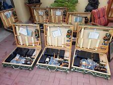 7x NVA Funkgerät UFT 435 in Holzkisten