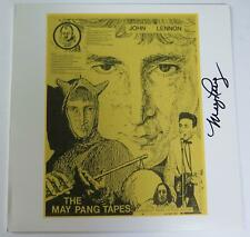 "May Pang JOHN LENNON Signed Autograph ""The May Pang Tapes"" LP Beatles Related"