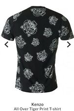 Kenzo T shirt Tiger Print T-shirt Large