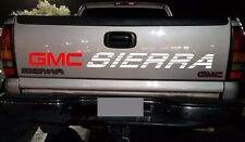 GMC SIERRA Decal Vinyl Sticker SLT 1500 Bed Lettering Z71 Duramax Diesel