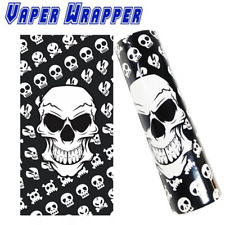 2x Dead Skull 18650 Battery Wraps Shrink Sleeve   Vape Wrapper   UK STOCK   NEW