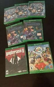 (Lot of 7) Brand New Factory Sealed - XBOX ONE GAMES