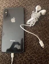 Apple iPhone X - 256GB - Black (Unlocked) A1901 (GSM)