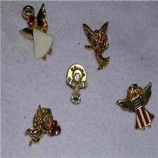 5 Angel Lapel Pins, Hat Pins, or Tie Tacs #17