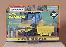 MATCHBOX DIRT MACHINES FIELD SHAPER CAT  TRACTOR & WAGON