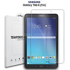 """PELLICOLA VETRO TEMPERATO per SAMSUNG Galaxy Tab E 9.6"""" T560 T561 TRASPARENTE HD"""