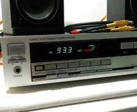 RCA MSR130 AM/FM Stereo Quartz Synth Receiver & KLH 6000 Bookshelf Speakers EXC