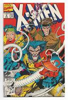 X-Men # 4 Marvel Comics 1992 Jim Lee art / 1st App. of Omega Red / Magneto