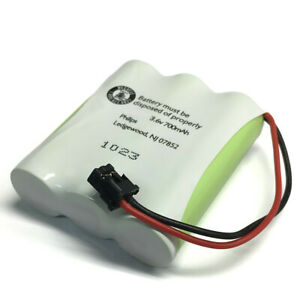 Philips SJB1142H Rechargeable Battery Replacement 3.6V 700mAh for Cordless Phone
